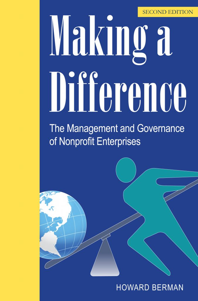 Making A Difference, by Howard Berman - Second Edition Cover Photo